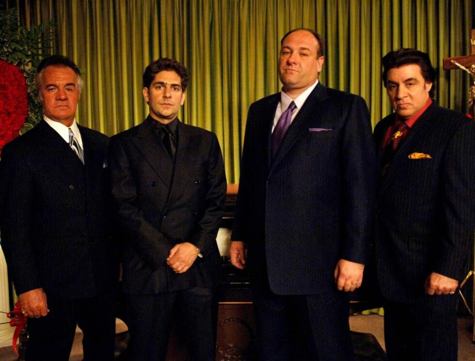 "Tony Sirico, Michael Imperioli, James Gandolfini og Steven Van Zandt lager spenning i serien ""Sopranos Foto: AP"