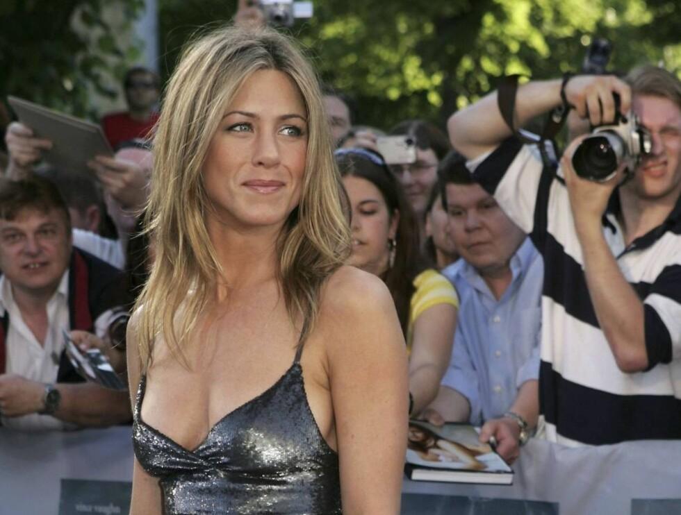 LESERNES FAVORITT: Jennifer Anistons stilsikkerhet faller i smak hos publikum. Foto: All Over Press