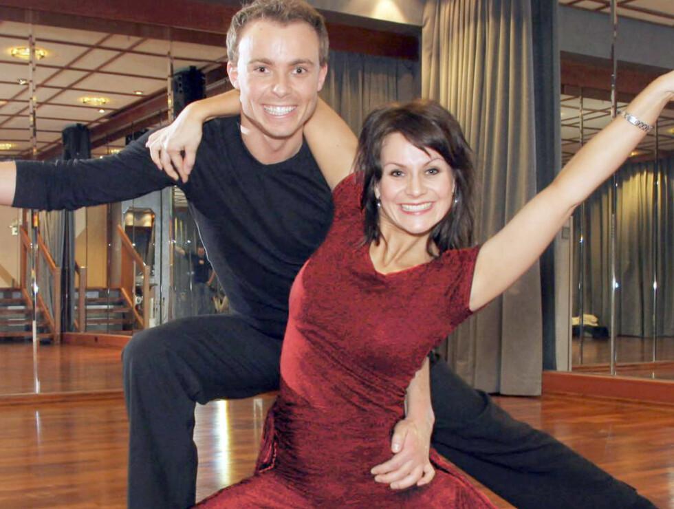 """SYDENDANS: Du kan trene Bjørn Wettre Holthe, som danset sammen med Katrine Moholt i TV2s """"Skal vi danse"""". Foto: Tore Skaar, Se og Hør"""
