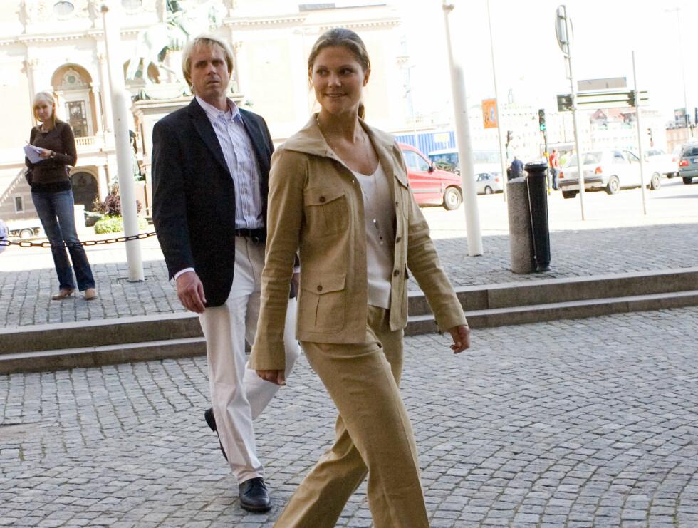 UD-KURS: Den svenske tronarvingen satser på en bredest mulig utdannelse for å forberede seg på dronningrollen. Nå er det diplomatiets tur... Foto: Stella Pictures