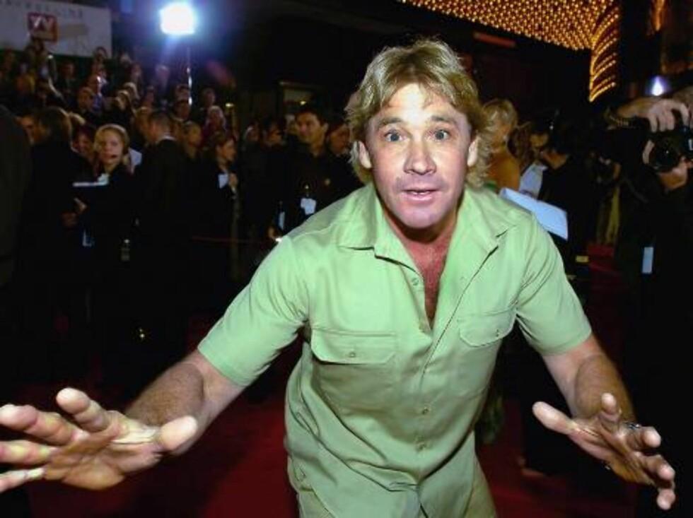 På www.crocodilehunter.com kan du lese mer om Steves  fargerike liv. Foto: All Over Press
