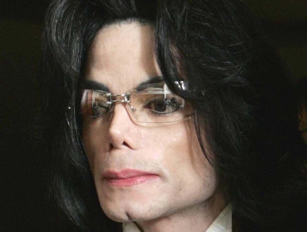 MOBBER: Michael sa fra når Janet hadde lagt litt på seg. Foto: AP