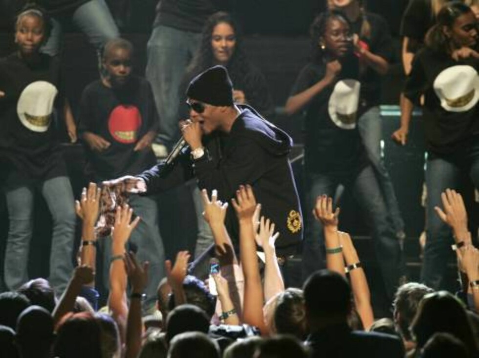 T.I. performs during the 2006 MTV Video Music Awards in New York, on Thursday, Aug. 31, 2006.  (AP Photo/Jeff Christensen) Foto: AP