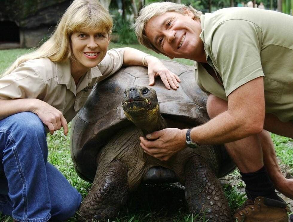 FAMILIEKJÆR: Sammen med kona, gjorde Steve stor suksess verden over. Foto: AP/Scanpix