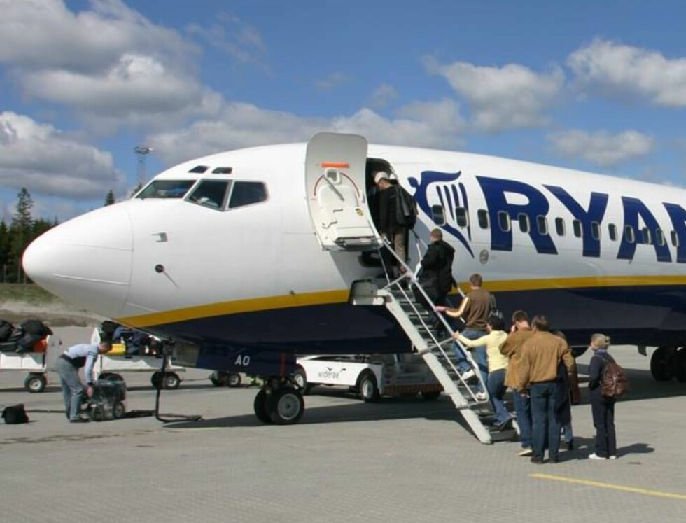 NYTT TILBUD: Ryanair kommer med et utvidet tilbud som sikkert kommer til å bli populært! Foto: Svend Aage Madsen/Se og Hør