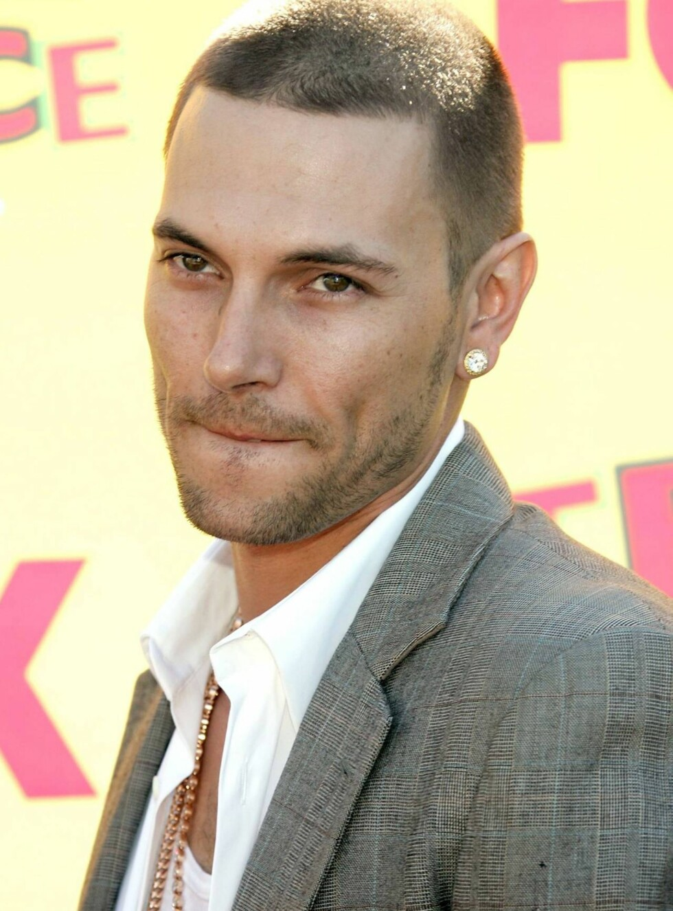 UNIVERSAL CITY, CA - AUGUST 20:  Singer Kevin Federline arrives at the 8th Annual Teen Choice Awards at the Gibson Amphitheatre on August 20, 2006 in Universal City, California.  (Photo by Frazer Harrison/Getty Images) *** Local Caption *** Kevin Federlin Foto: All Over Press