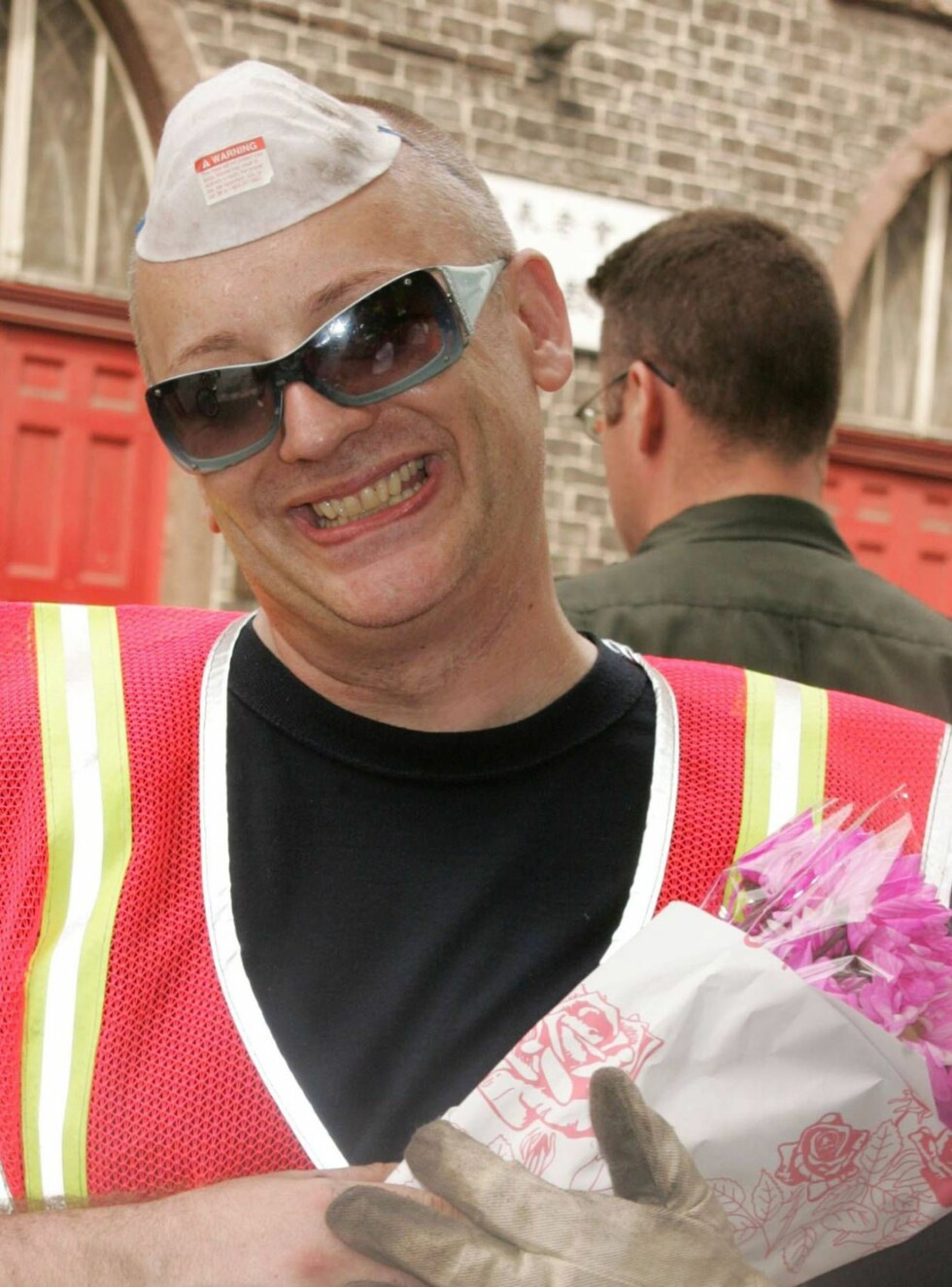 Aug 18, 2006; New York, NY, USA; BOY GEORGE aka GEORGE O'DOWD completes his final day of community service at the NYC Department of Sanitation in Chinatown. BOY GEORGE pled guilty to filing a false police report, a misdemeanor.   Photo by Nancy Kaszerman/ Foto: Stella Pictures