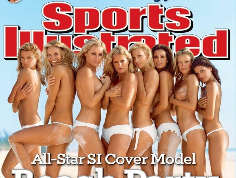 2006: Sports Illustrated feiret 40-årsjubileet ved å ha en god del babes på coveret. Foto: Sports Illustrated
