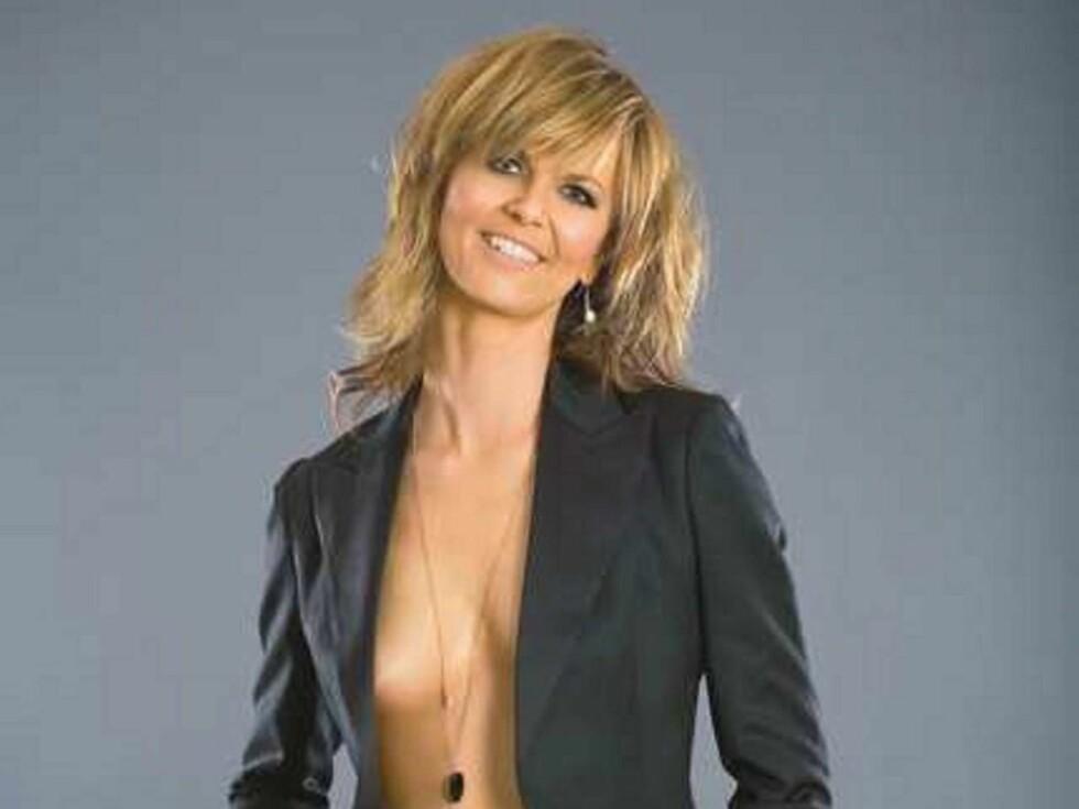 KONTROVERSIELL: Dette bildet førte til at Tone Bekkestad mistet jobben i svensk TV4. Nå henges hun ut i en sex-novelle. Foto: Slitz