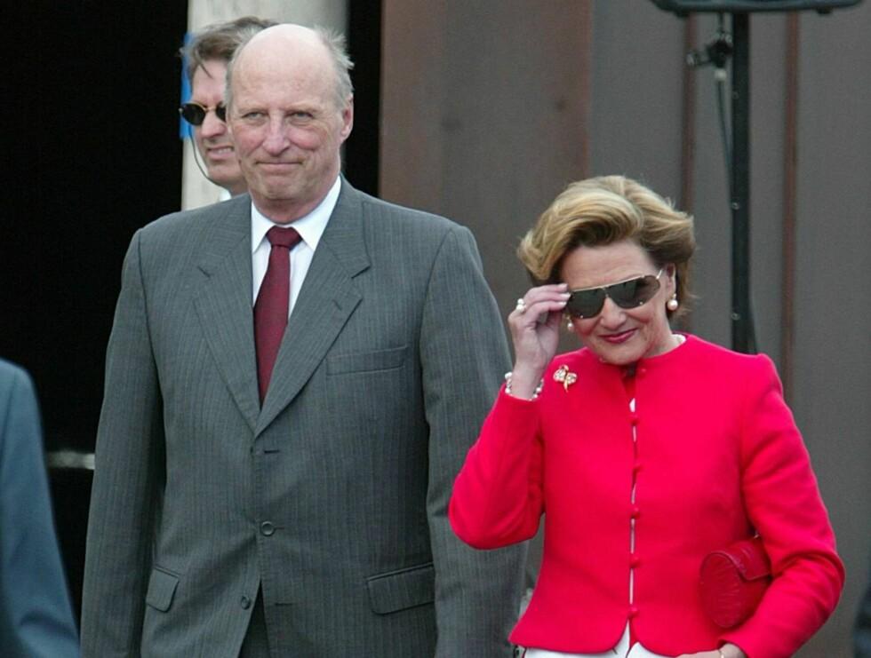 TIL IRLAND: Kongeparet får nok å gjøre når de i september drar til Irland. Foto: Se og Hør, Andreas Fadum