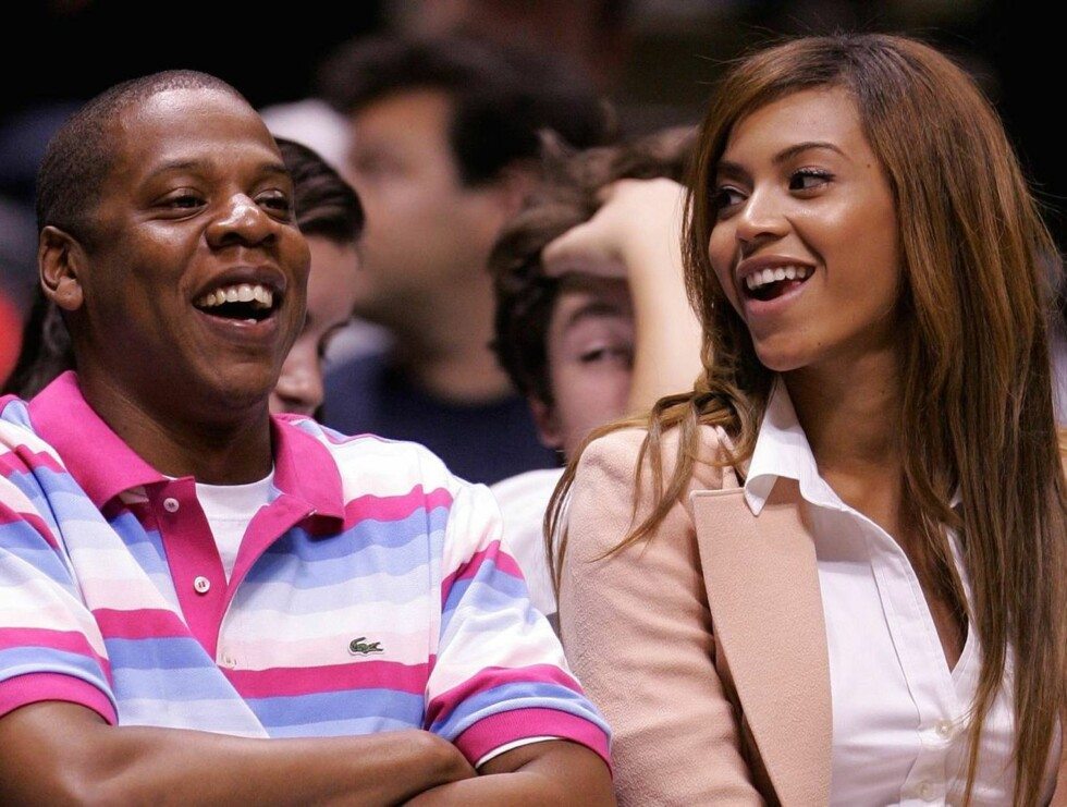 Jay-Z and Beyonce Knowles Celebrities Attend Miami Heat vs New Jersey Nets Playoff Game - May 14, 2006 Continental Arena East Rutherford, New Jersey USA May 14, 2006 Photo by James Devaney/WireImage.com  To license this image (8632970), contact WireImage: Foto: All Over Press