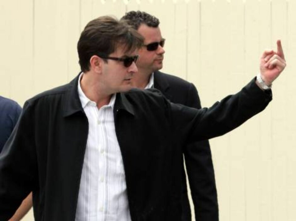 Charlie Sheen. Foto: All Over Press