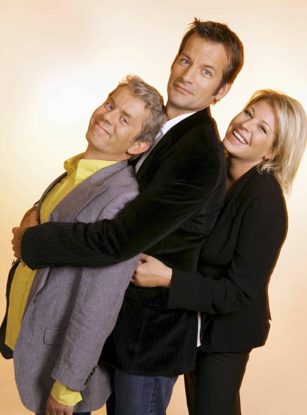 FESTLIG GJENSYN: Norges mest populære trio vender tilbake. Foto: NRK