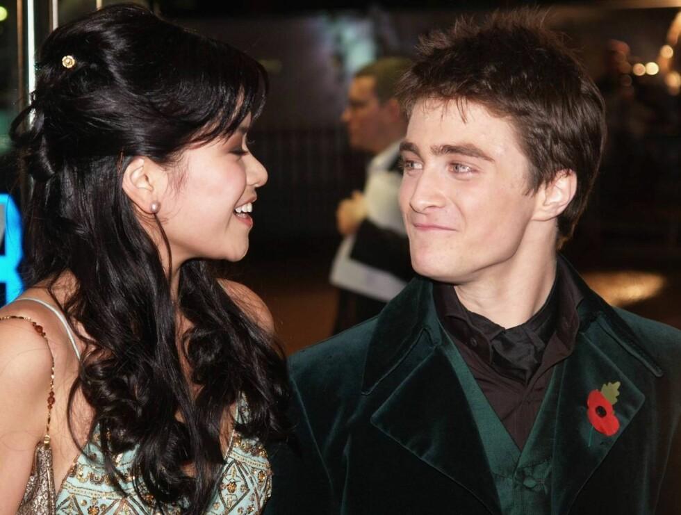 VENNER: Katie og Daniel har blitt svært gode venner under innspillingen ... Foto: AP/Scanpix