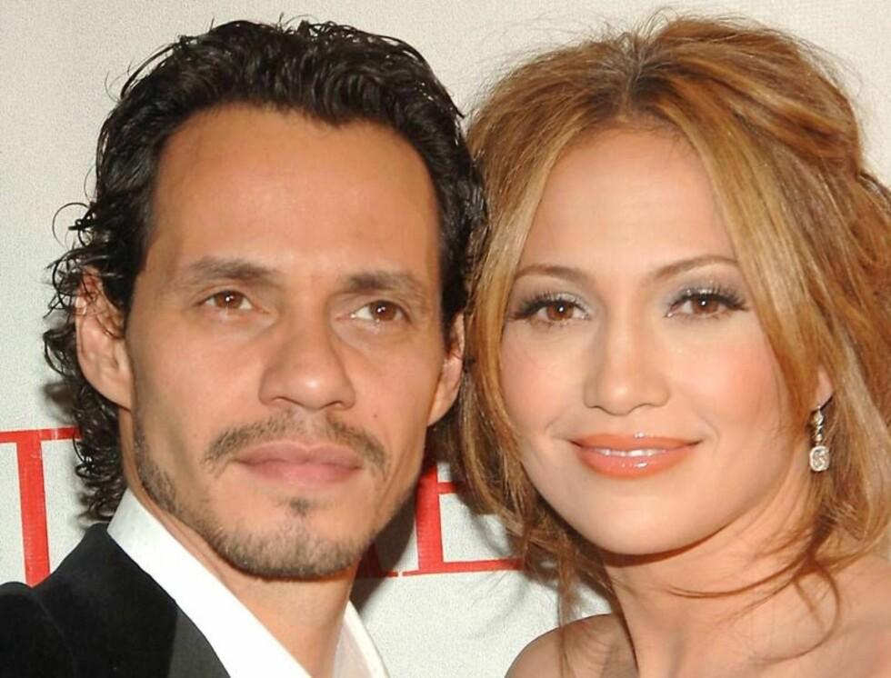 VENTER BARN? Ifølge Jesse McCartney blir J-Lo og ektemannen snart foreldre... Foto: All Over Press