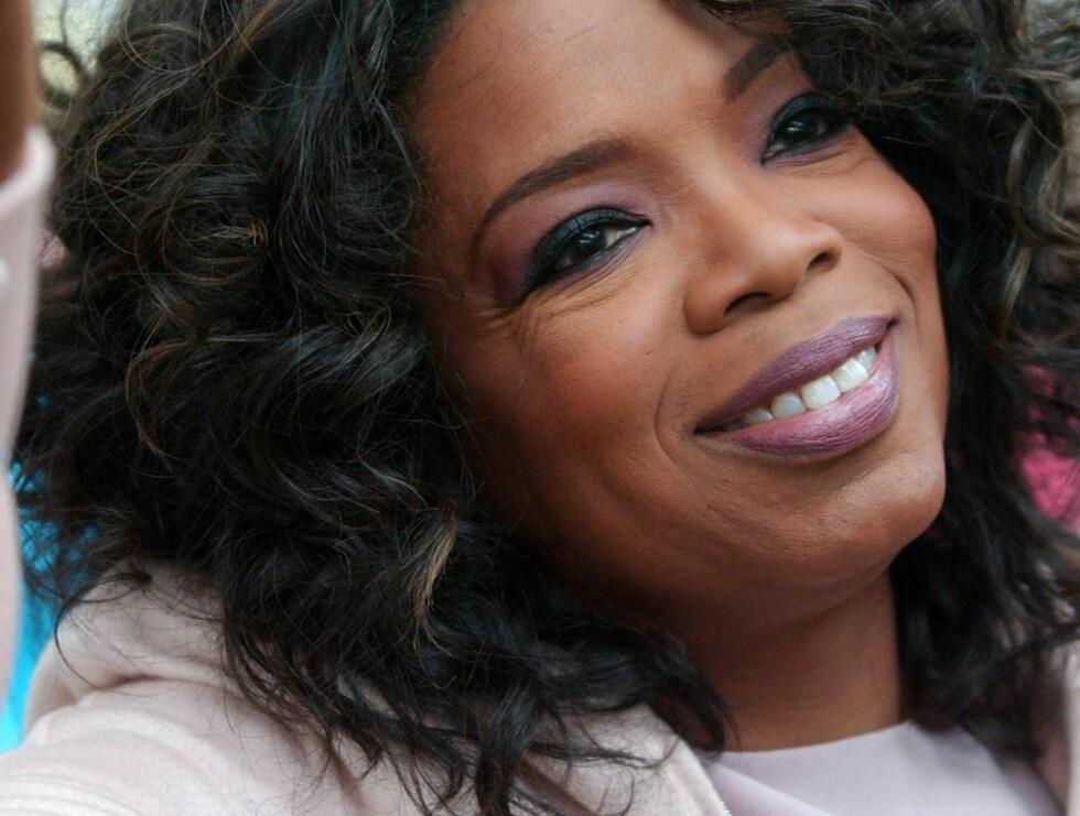 GRÛNDER: Oprah var den første kvinnen som ledet og produserte sitt eget talk show. Foto: All Over Press
