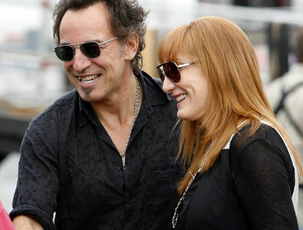 SAMSTEMTE: Patti var korist i the E Street Band, og har turnert sammen med Bruce flere ganger. Foto: AP
