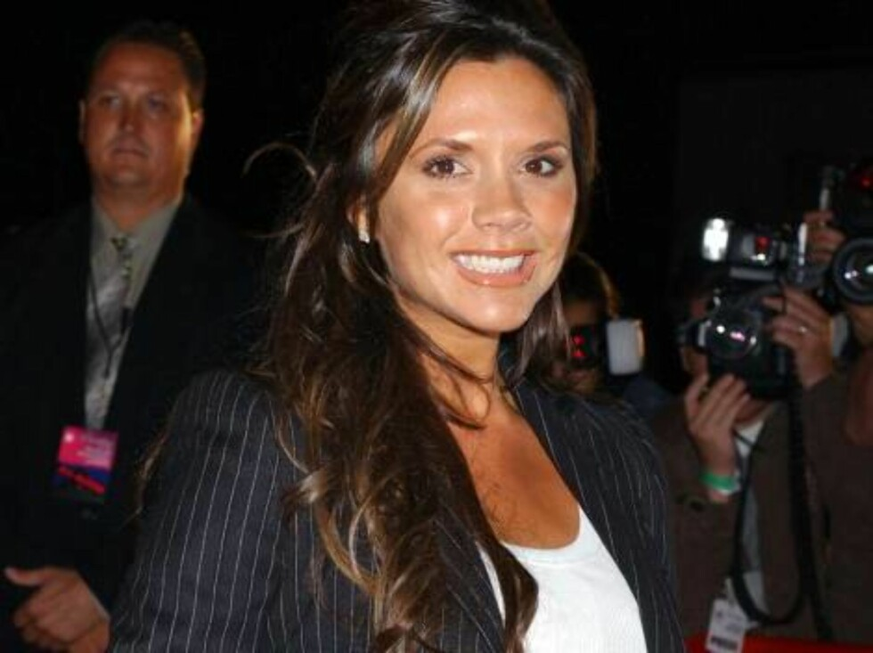 Code:UK-6683, California, USA, 29.10.2004: Singer Victoria Beckham attends the Rock and Republic Spring 05 Fashion Show in California. All Over Press / UK Press / 6683 / ALL OVER PRESS Foto: All Over Press