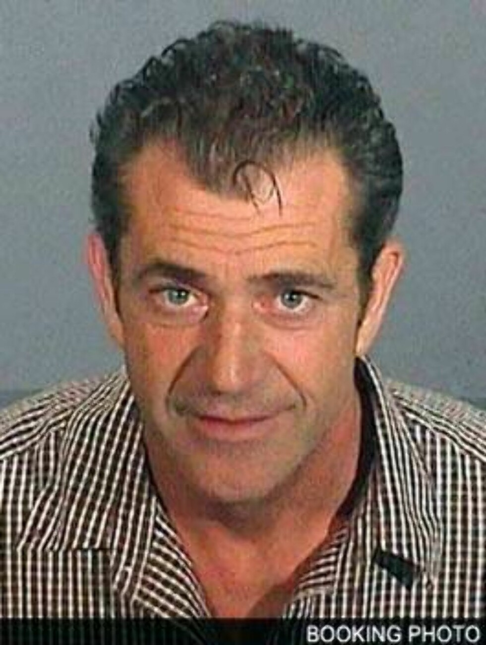 Mel Gibson looks good on his mug shot July 29, 2006 X17agency  / ALL OVER PRESS Foto: All Over Press