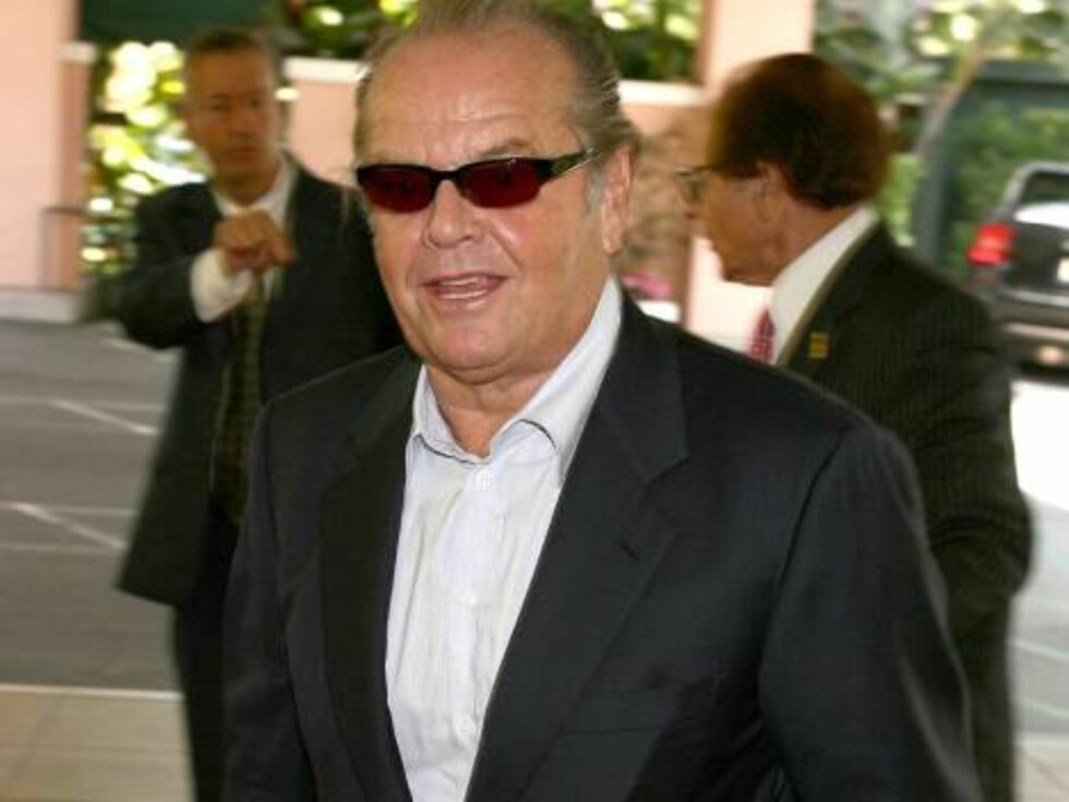 BEVERLY HILLS, CA - AUGUST 17:  Actor Jack Nicholson arrives at the HFPA annual installation luncheon held at The Beverly Hills Hotel on August 17, 2006 in Beverly Hills, California.  (Photo by Kevin Winter/Getty Images) *** Local Caption *** Jack Nichols Foto: All Over Press