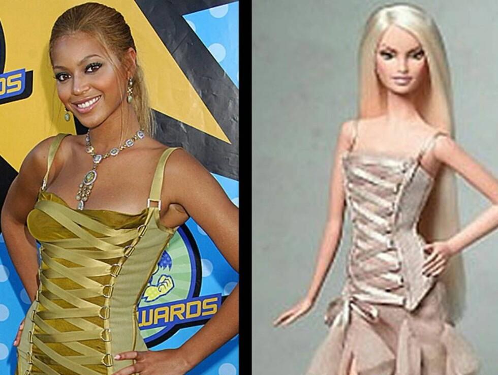 I'm a Barbie girl ...