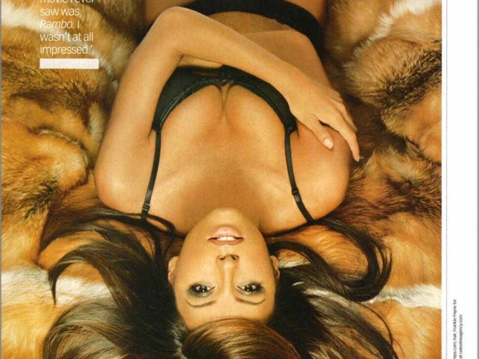 POPULÆR: Eva har flere ganger blitt kåret til en verdens mest sexy kvinner. Det er lett å skjønne hvorfor. Foto: Stella Pictures