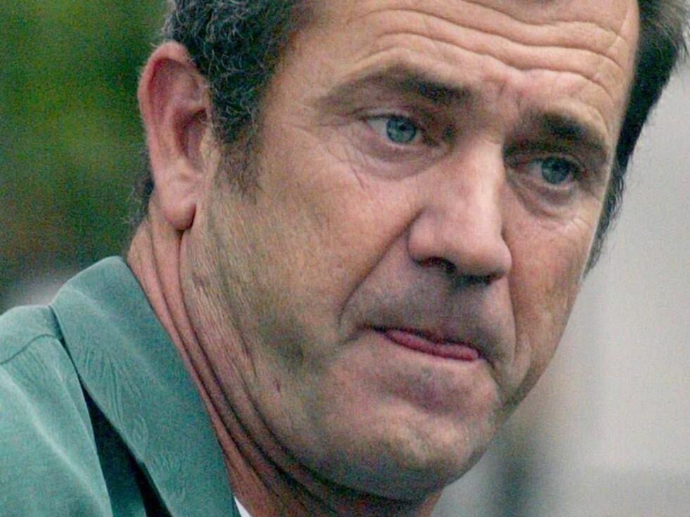 ANGRER: Mel Gibson har også blitt dømt til å besøke Anonyme Alkoholikere nesten daglig. Foto: Stella Pictures