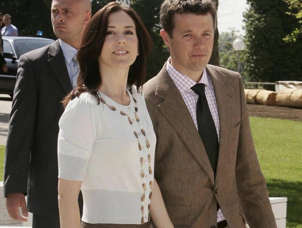 FRYNSEGODER: Pengene brenner ikke i lommene til Mary og Frederik... Foto: All Over Press
