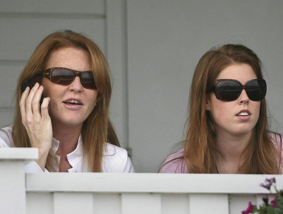 KLONER: Fergie og Bea blir likere og likere ... Foto: All Over Press