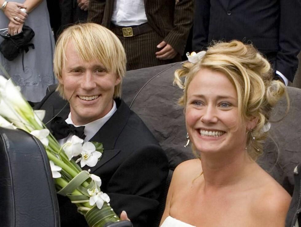 I GODE OG ONDE DAGER  Thorbjørn og Tai Victoria ble lørdag et ektepar. Foto: Fotograf Tor Lindseth