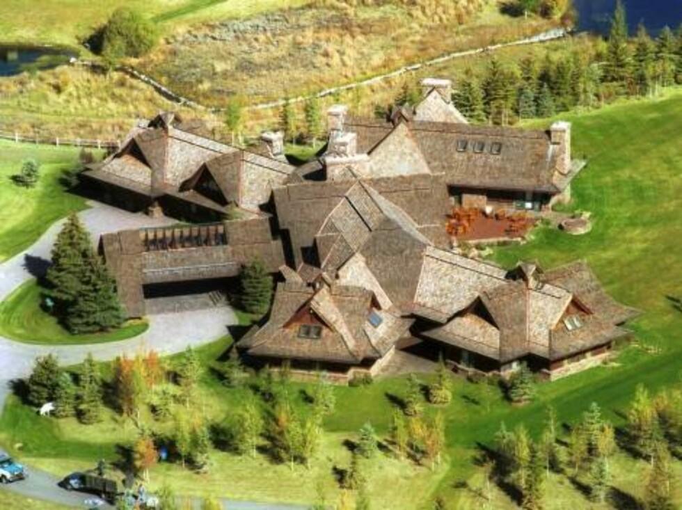 Arbold Schwarzenegger house in Idaho/X17agency / ALL OVER PRESS Foto: All Over Press