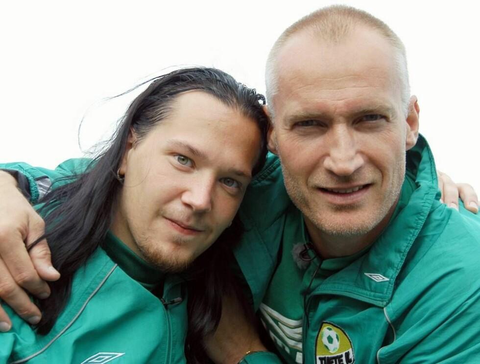 RETURNERER: Snart er Kenneth (t.v) og Tufte-trener Erik Thorstvedt tilbake på norske tv-skjermer.  Foto: Se og Hør