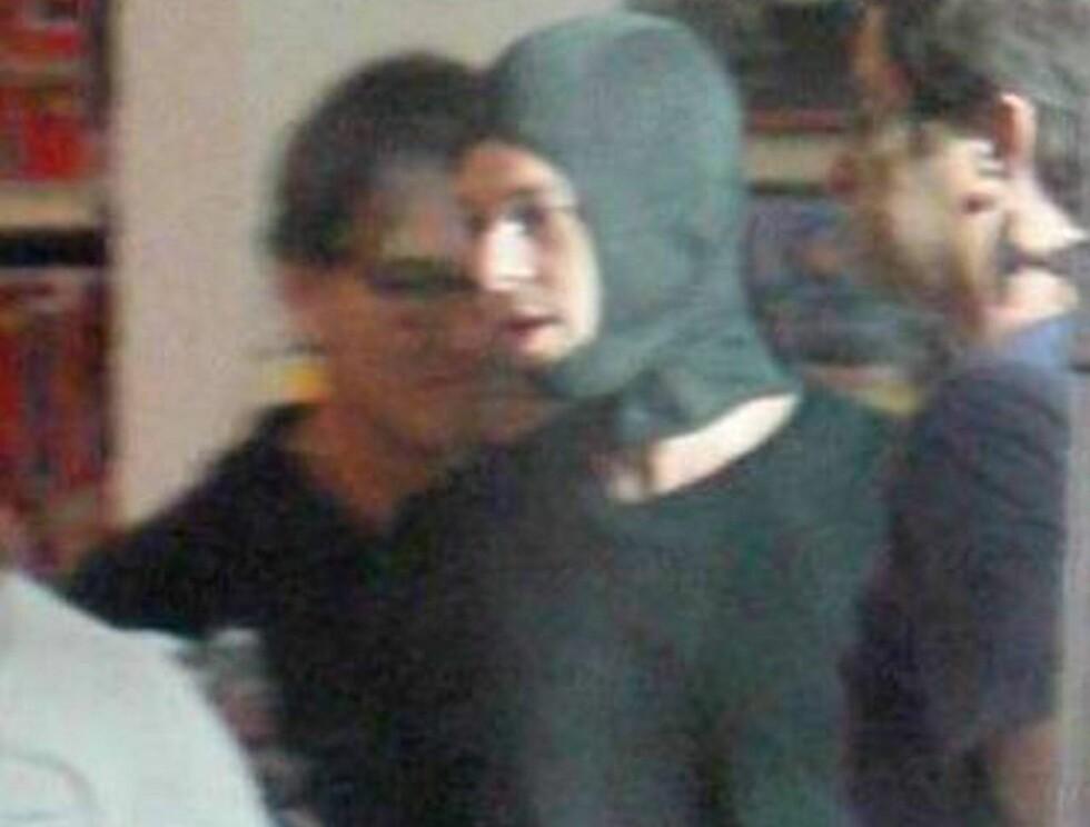 MASKERT: Blir det to tette og en badehette for Brad? Foto: All Over Press