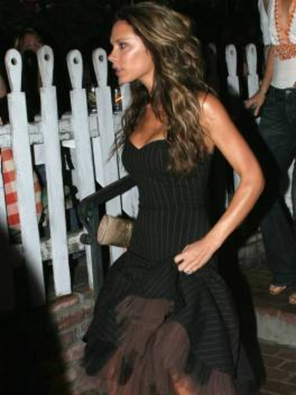 Victoria Beckham at the Ivy restaurant in Beverly Hills October 22, 2005 X17agency exclusive / ALL OVER PRESS Foto: All Over Press