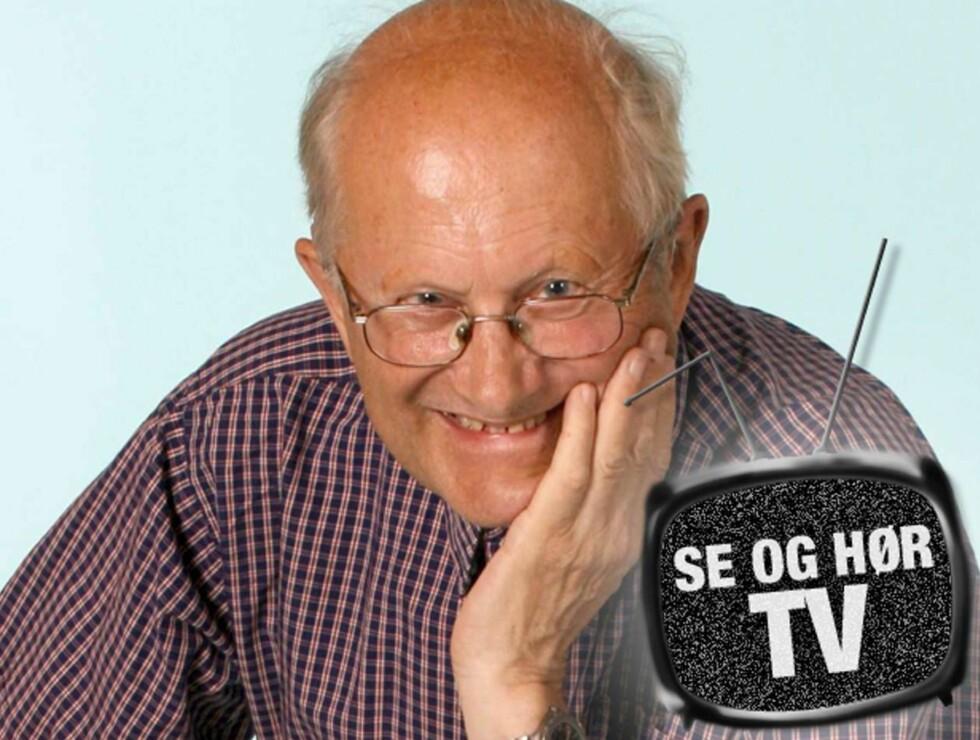 LEVENDE LEGENDE: Vidar Theisen har vært pensjonist i åtte år, men er fortsatt folkets favorittværmelder! Foto: Tore Skaar, Se og Hør