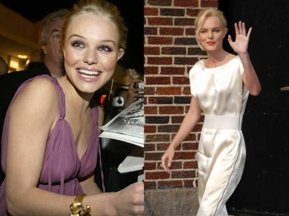 Kate Bosworth gikk fra slank til anorektisk på kort tid.  - Hun og Orlando lever organiske liv. De drikker nesten bare urte-te, sier venner.
