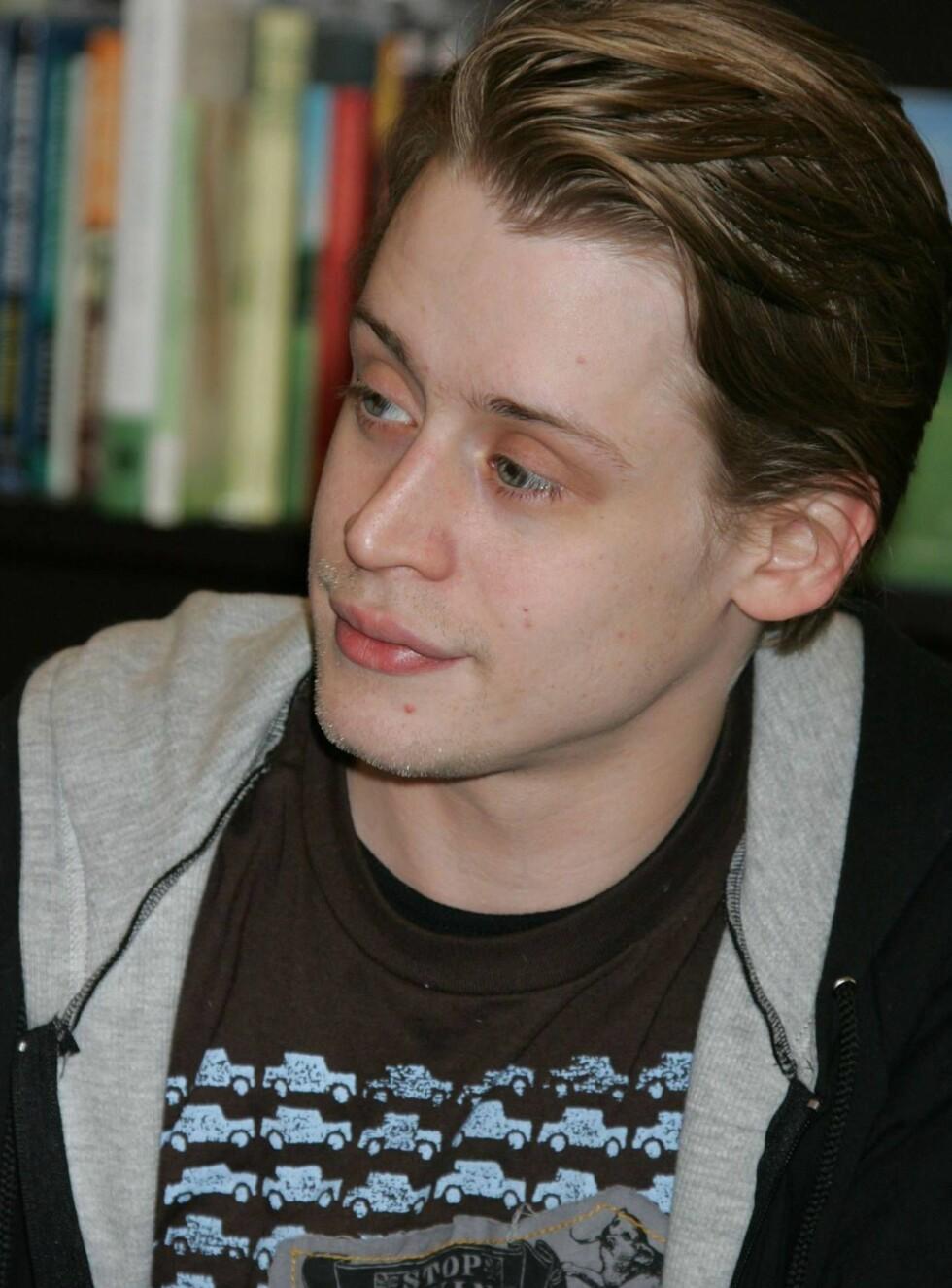 MODEN ROLLE: Macaulay er ferdig med barnefilmer... Foto: All Over Press