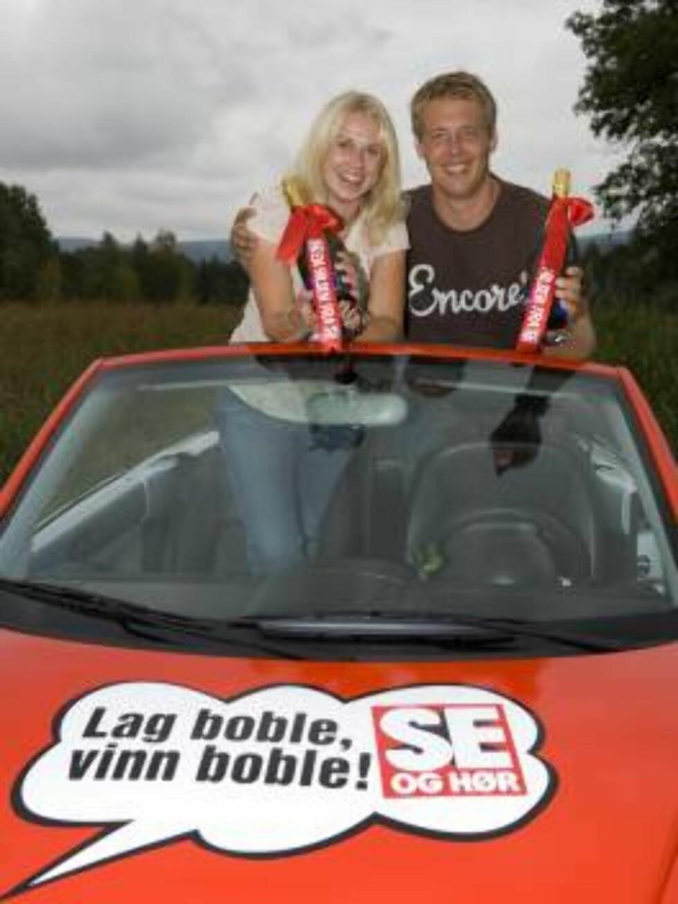 Laila Gjertsen vinner seogher.no's boble Foto: Tor Lindseth, Se og Hør