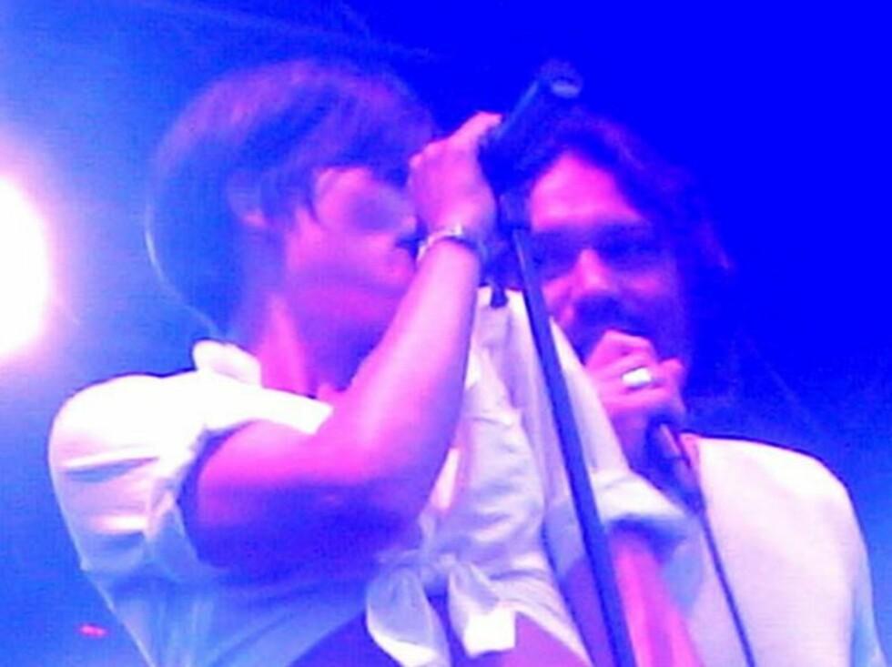 MATCH: Hva skal man med Ken Stringfellow når man har Vamp-vokalist Vidar Johnsen? Foto: Marianne Henriksen