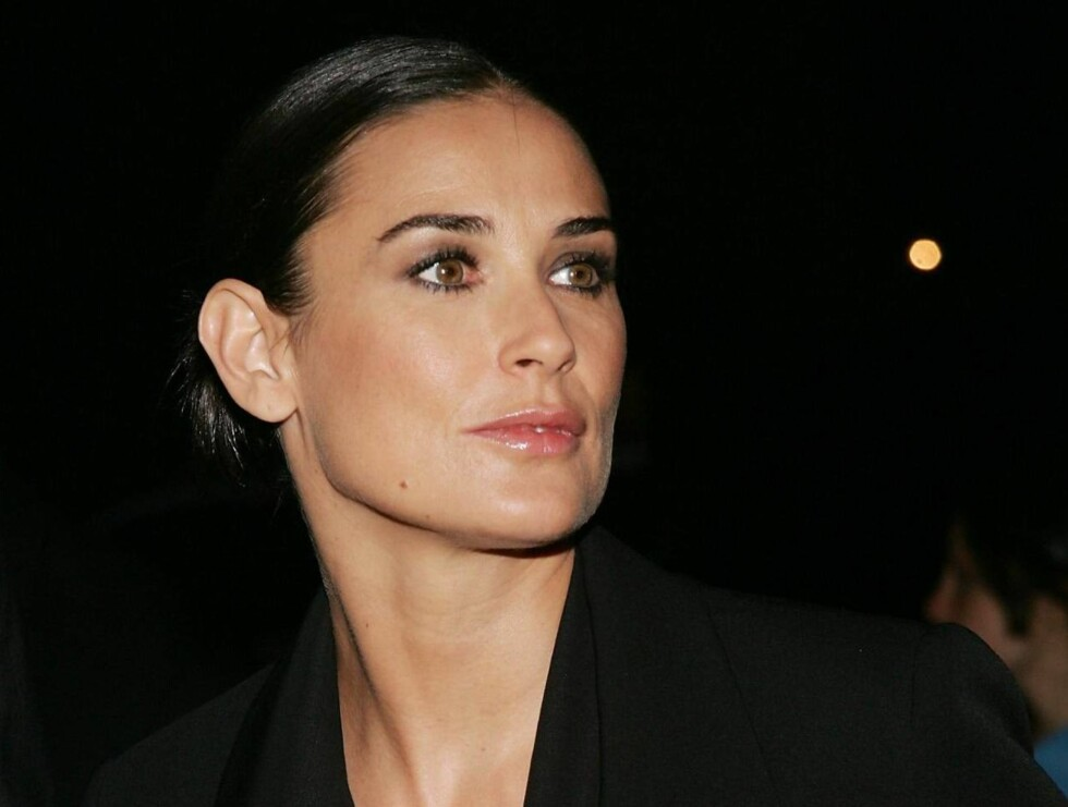 GAMMEL: Å være 44 i Hollywood, er ingen lett sak. Demi Moore merker det godt. Foto: All Over Press