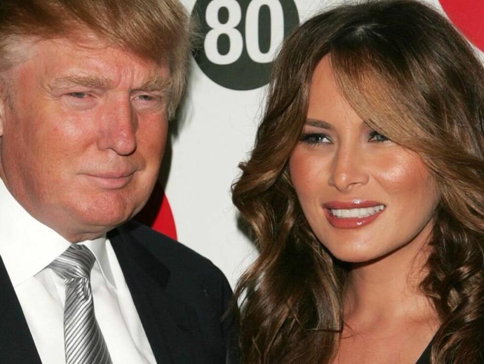 LAT MILLIARDÆR: Trump innrømmer selv at han er en kjempelat far! Foto: All Over Press