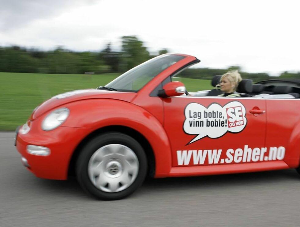 BOBLE-PREMIEN: Denne bilen får nye eier fra 1. august. Foto: Geir Egil Skog, frilansfoto.no