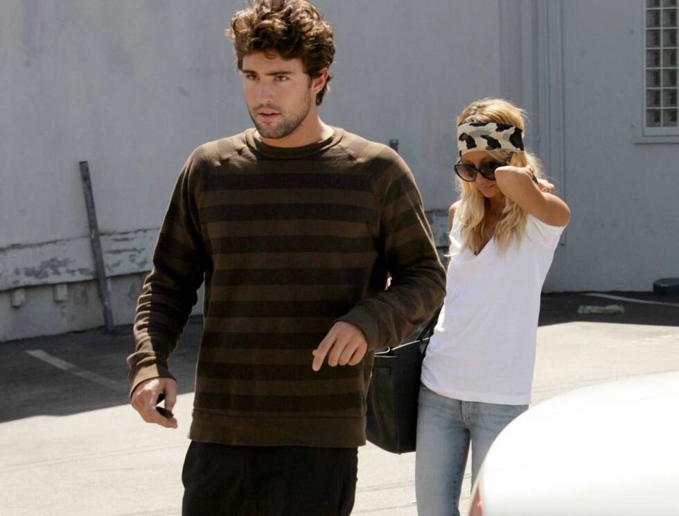FORELSKET: Brody og Nicole tilbringer så mye tid som mulig sammen. De kan ikke få nok av hverandre! Foto: All Over Press