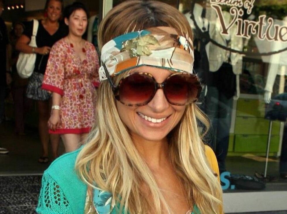 Nicole Richie shopping at Kitson store with her bandana. July 15, 2006 X17agency exclusive Foto: All Over Press