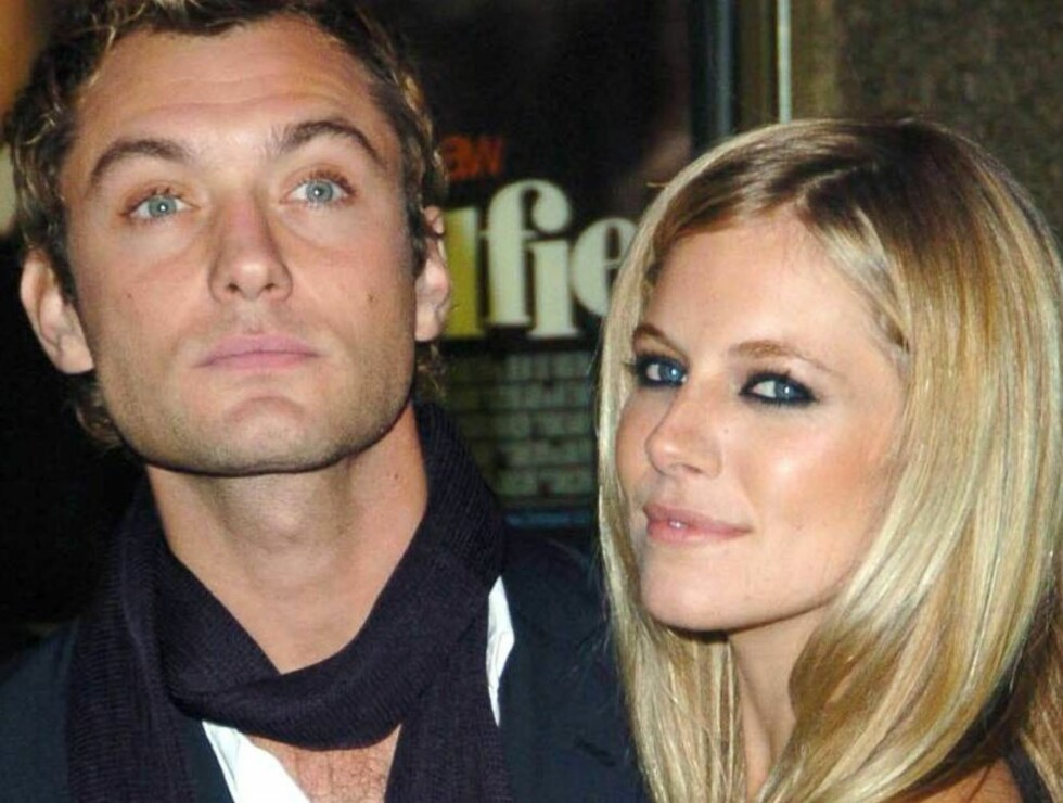 Code: UK- 6653, LONDON, UNITED KINGDOM, 14.10.2004: ACTOR JUDE LAW & SIENNA MILLER ATTEND THE ALFIE WORLD FILM PREMIERE IN LONDON. 14/10/04   All Over Press/ UK PRESS    / ALL OVER PRESS Foto: All Over Press