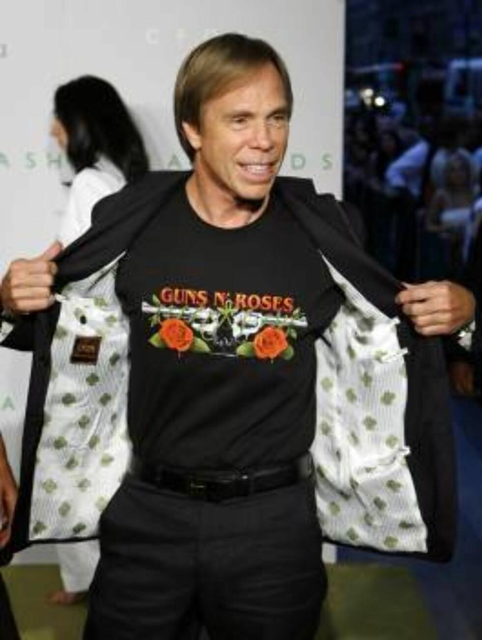 <strong>SUPERDESIGNER:</strong> Hilfiger er en av verdens mest kjente fashion-designere. Foto: AP