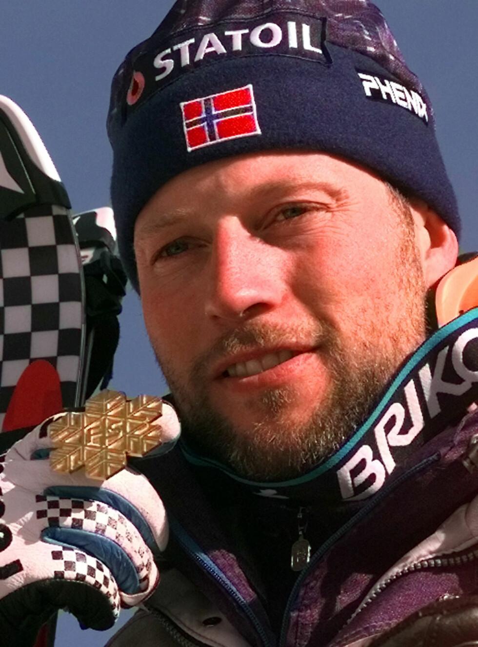 MESTER: Lasse Kjus vant OL-gull i alpint i 1994. I februar meldte han at han legger opp. Foto: AP/Scanpix