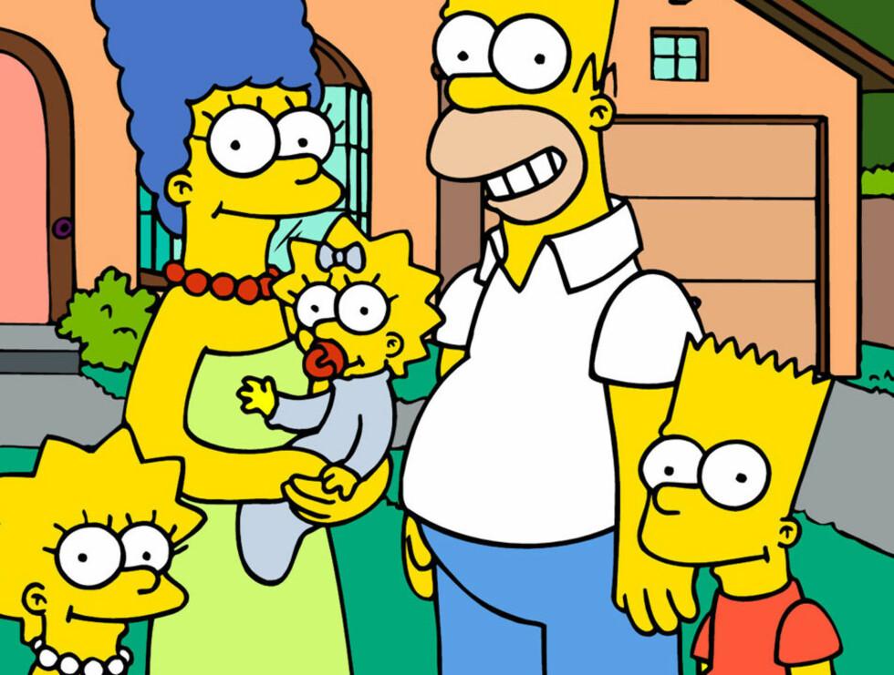 <strong>GOD ÅRGANG:</strong> Familien Simpson har holdt det gående helt siden 1989. Foto: AP/Scanpix