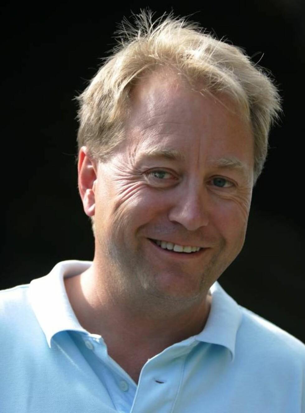 FARTSVIDUNDER: Kjell Inge Røkke liker å bevege seg styggfort. Foto: Andreas Fadum, Se og Hør