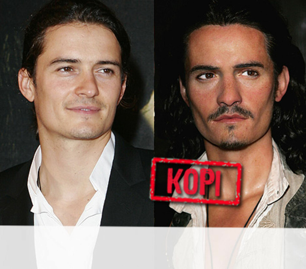 <strong>KJEKKAS:</strong> Også kjekkasen Orlando Bloom har fått formet rollefiguren sin fra Pirates of the Caribbean, Will Turner. Foto: All Over Press